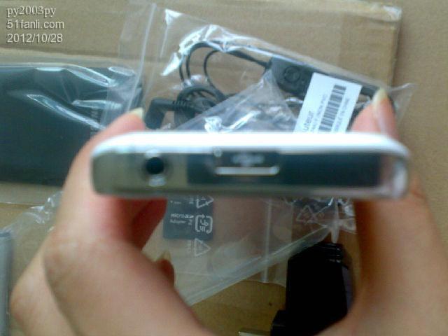 三星手机s5830i 纯白 高清图片