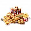 21日10点:KFC 肯德基 欢享4人餐 单次电子兑换券