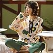 俞兆林 女士纯棉家居服套装