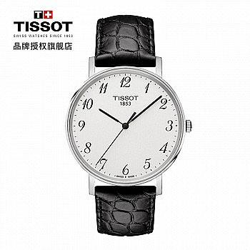 14点/20点/22点抢劵:TISSOT 天梭 T-Classic Everytime T109.410.16.032.00 男士时装腕表