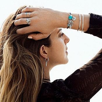 11日0点:Pandora 潘多拉 197191CZ悸动的心 925银戒指