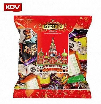 KDV 混合款夹心糖 巧克力糖 500g *2件