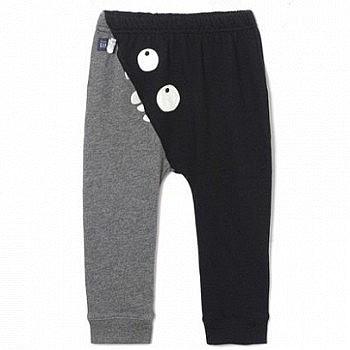 双11预售:Gap盖璞 万圣节系列男童纯棉松紧腰长裤