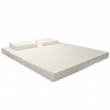 券链接已更新:清幽雅竹 泰国进口天然乳胶床垫 150*200*5cm