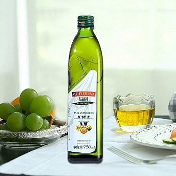 88VIP:MUELOLIVA 品利 西班牙原装进口特级初榨橄榄油 750ml *4件