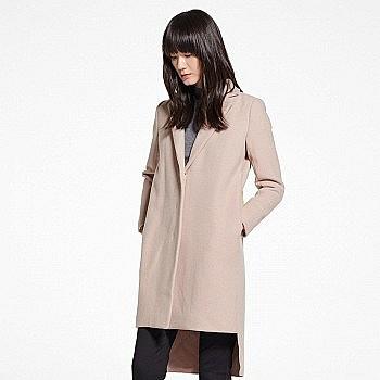 双11预售: JNBY 江南布衣 5F024245 女士毛呢大衣