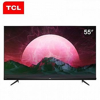 TCL 55V6 55英寸 4K 液晶电视
