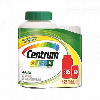 Centrum 善存 多种复合维生素矿物质男女维生素 425粒