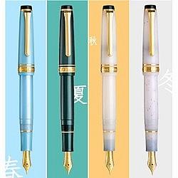 圣诞好礼:SAILOR 写乐 11-1224 四季织 钢笔 14K MF尖 四色可选