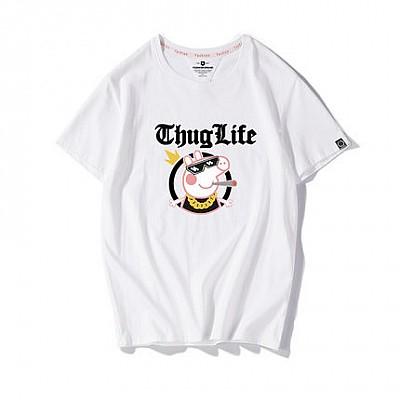 小猪佩奇情侣半袖t恤