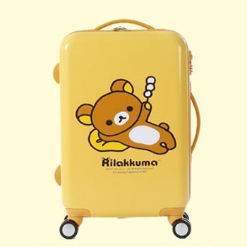 京东商城LOVO罗莱生活 轻松小熊旅行箱 24寸